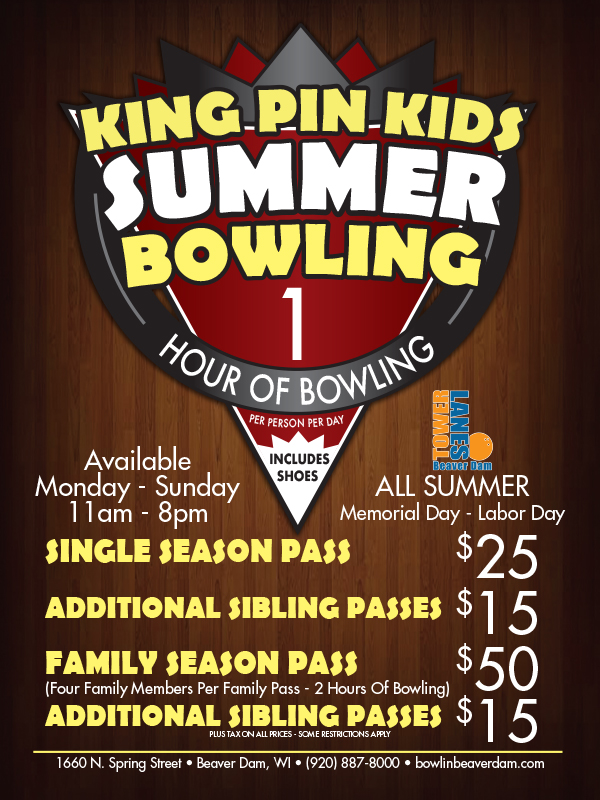 Kids Summer Bowling