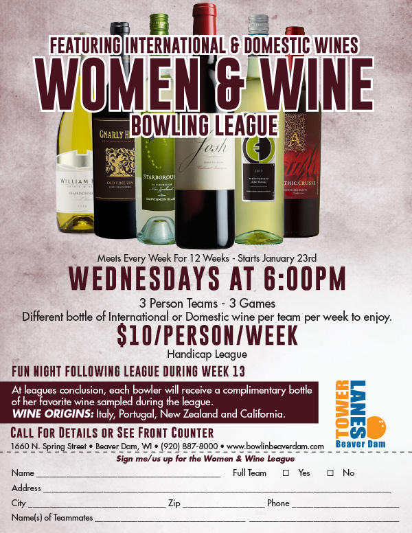 Women and Wine League